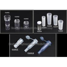 Copo de amostra descartável para uso médico