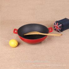 Set de cuisson antidérapante en fonte travail chinois