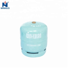 3kg lpg gas bottle