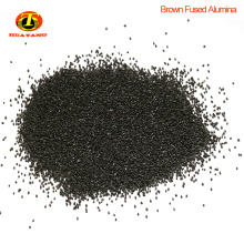 Materiales abrasivos polvo de óxido de alúmina fundido negro para muelas