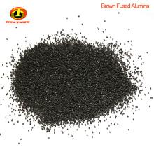 Matières abrasives poudre d'oxyde d'alumine fondue noire pour meules