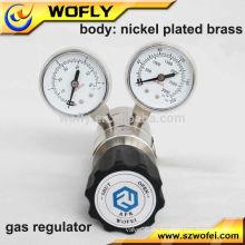 "Regulador de baja presión de 1/4 ""NPT F de alta pureza"