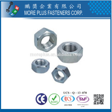 Taiwan DIN6923 Blank A2-70 Stainless Steel Copper M6 M8 Hex Flange Head Nut