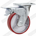 Heavy Duty Iron Core PU Swivel Caster Wheel (G4209)