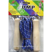 JML 2015 Nuevo saltar cuerdas de alta calidad Saltar cuerdas de salto con mango de madera