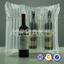 Hot Sales High Quality Wine air column Packaging bubble bag for wine bottle packaging bags for wine bottle