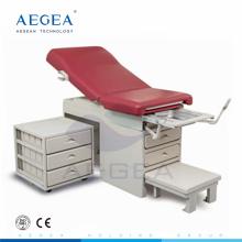 AG-S108 Krankenhausuntersuchungsgerät chirurgischer Entbindungsoperationsstuhl mit Kabinett