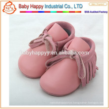 wholesale colorful genuine leather moccasins baby shoes girls