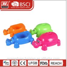 2015 new design elephant style popular Plastic Baby Potty