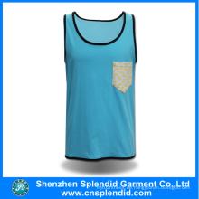 2016 späteste Entwurfs-Damen blaue Jerseys-Art- und Weisekleidung von China