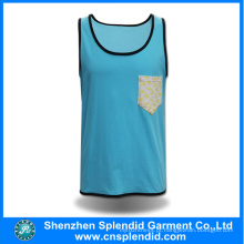 2016 Latest Design Ladies Blue Jerseys moda vestuário da China