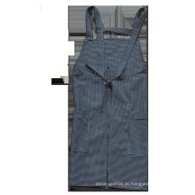 Avental traseiro da loja do avental da cruz de bar