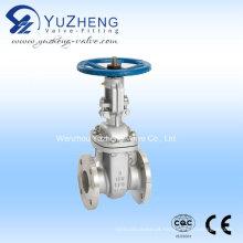 Válvula de porta de flange de aço inoxidável Z41W-150lb