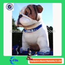 Chien gonflable géant gonflable animal gigante gonflable chien de taureau pour la publicité