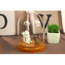 Butterfly Bell Jar Petit verre Dome