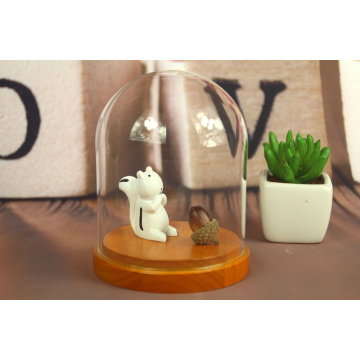Butterfly Bell Jar Small Glass Dome