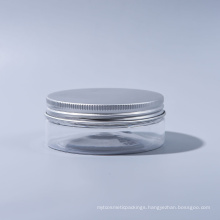 30ml Pet Jar Plastic Wide Mouth Jar for Candy for Food for Ice Cream for Cosmetic Food Grade with Aluminum Caps