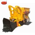 Uso de mineração subterrânea carregador de rodas com rodas Carregador de rochas pneumáticas