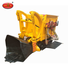 Underground mining use wheeled rock loader Pneumatic rock loader
