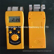 Dm200t Tecido de couro Vestuário Fio de fiação Têxtil Analizador de umidade