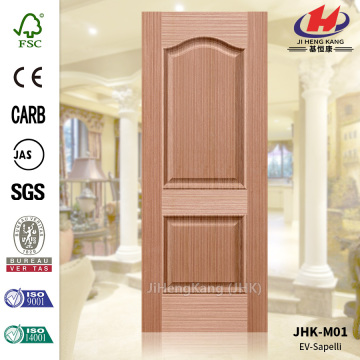 Sapelli Veneer Molded Door Skin