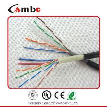 Ftp кабель cat5e с силовым кабелем