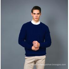 Men′s Fashion Cashmere Blend Sweater 17brpv129