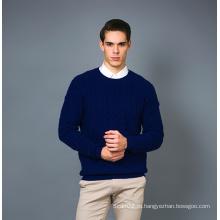 Мужская мода Casmere Blend Sweater 17brpv129