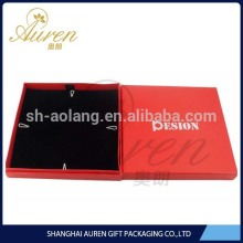 hot stamping cardboard silver jewelry box