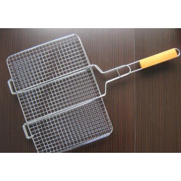 Pre-Crimped Barbecue Grill Netting