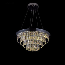 Popular Design for Large Modern Chandeliers led chrome 3 light chandelier modern lighting sale supply to Spain Factories