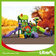 China Vorschule Kunststoff Outdoor Spielplatz / Jungel Gym / Kleinkind Playset