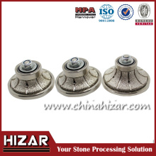 Vacuum Brazed Diamond Diamond Grinding Tools for Granite