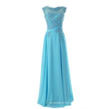 Мода Новый Кружева Шифон Невесты Платье Длина Пола Длинное Вечернее Платье Вечернее Платье
