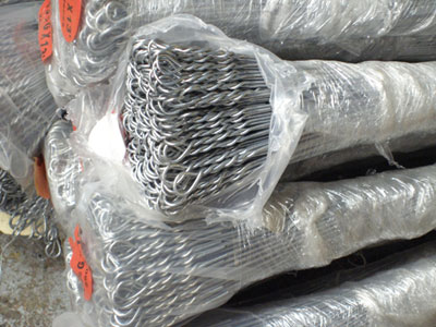 Cotton baling tie wire