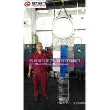 DIN ANSI JIS Vanne à fermeture pneumatique en acier inoxydable