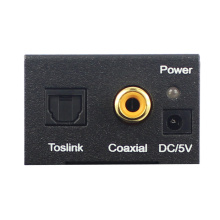 Toslink and Coaxial to L/R audio converter