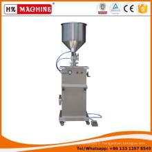 Machine de remplissage semi-automatique liquide / crème / huile / machine de remplissage liquide manuelle