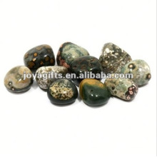 High Polished Gemstone green pebble stone