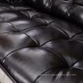 Casual Round Creative Leather Sofa 123