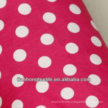 Cotton Woven Twill Shirt Dress Printing Fabric