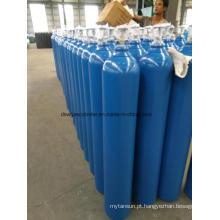 Gás N2O de alta pressão de 99,9% com gás de cilindro 10L com válvula Qf-2
