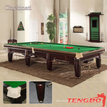 TB Solid wood European streamline Cincinnati carving 12ft cheap snooker tables for sale