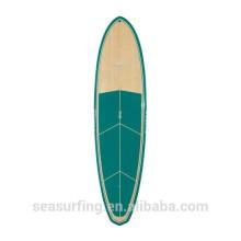 2016 mode graphique réel bambou OEM couleur de la planche de surf en vente