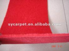 Super quality discount nonwoven velour floor carpet rolls