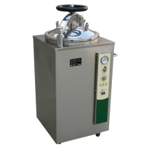 Stérilisateur de vapeur vertical de pression d'hôpital analogue de 35L / 50L / 75L / 100L