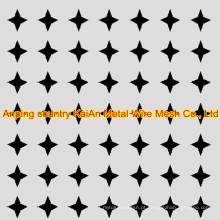 Aço Inoxidável Muro Perfurado buraco redondo / buraco quadrado / buraco hexagonal / buraco estrela ---- 34 anos de fábrica
