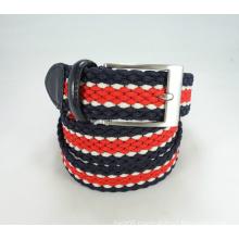 Elastic Woven Waistband Buckle Belt