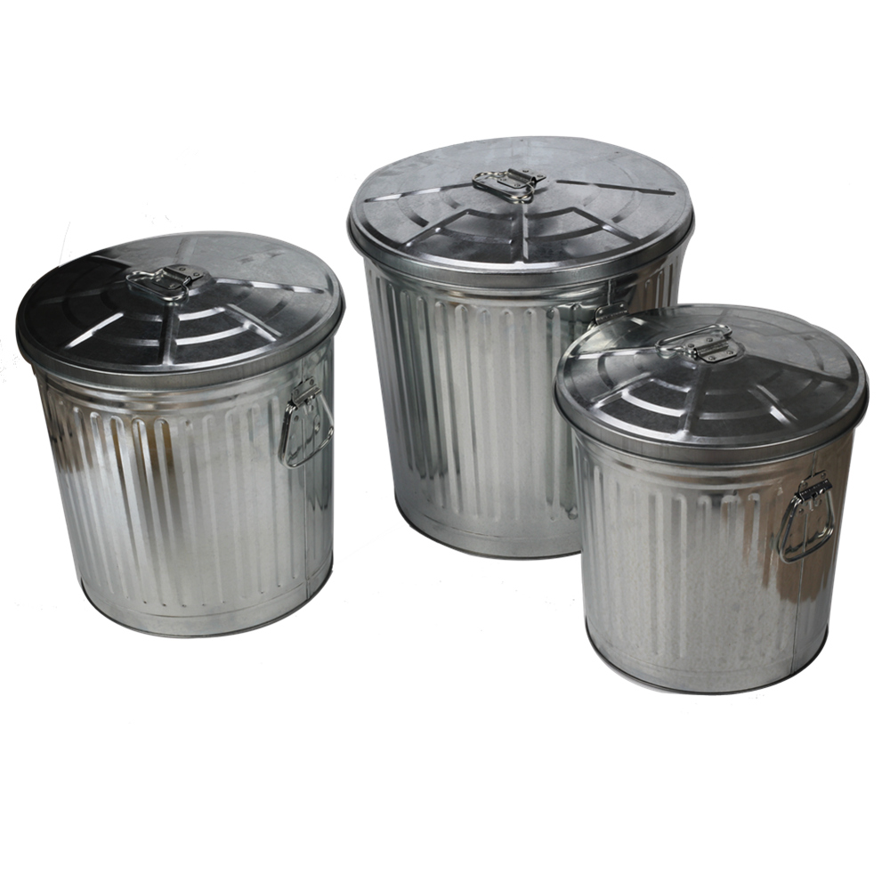 Garbage Storage Trash Can Set