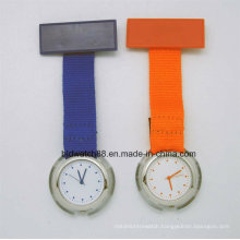 Cheap Nurse Fob Watch with Nylon Fabric Band